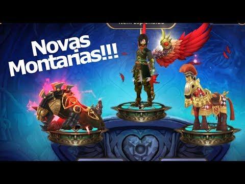 Dragon Nest M: Novas Montarias e Itens! Ganhei uma Montaria NOVA!!! Omega Play