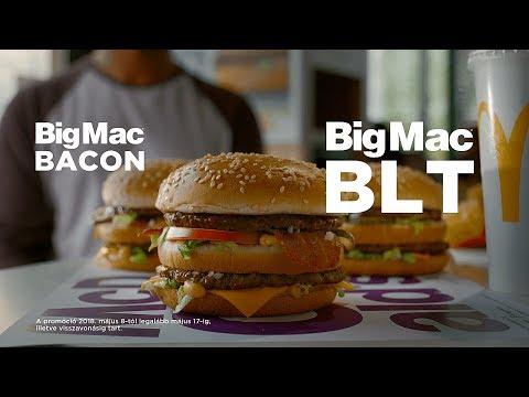 Big Mac BLT és Big Mac Bacon a Mekiben! (45 sec)