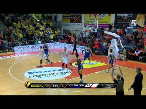Highlights: Nes Ziona - Maccabi FOX Tel Aviv