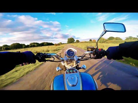 Fun ride with Kawasaki Eliminator | GoPro Hero 4