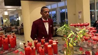 Коктейльная клубничная вечеринка отель Лабранда Макади Labranda royal makadi 5 Египет 2021