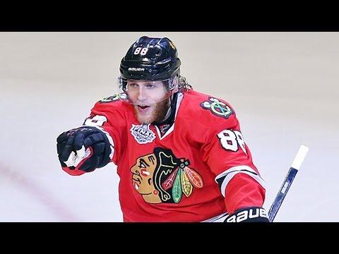 Richards sets up Kane to extend Hawks lead
