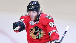 Richards sets up Kane to extend Hawks lead thumbnail