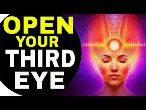 Secret Technique to INSTANTLY OPEN YOUR THIRD EYE, Activate Your Pineal Gland & Raise Your Vibration