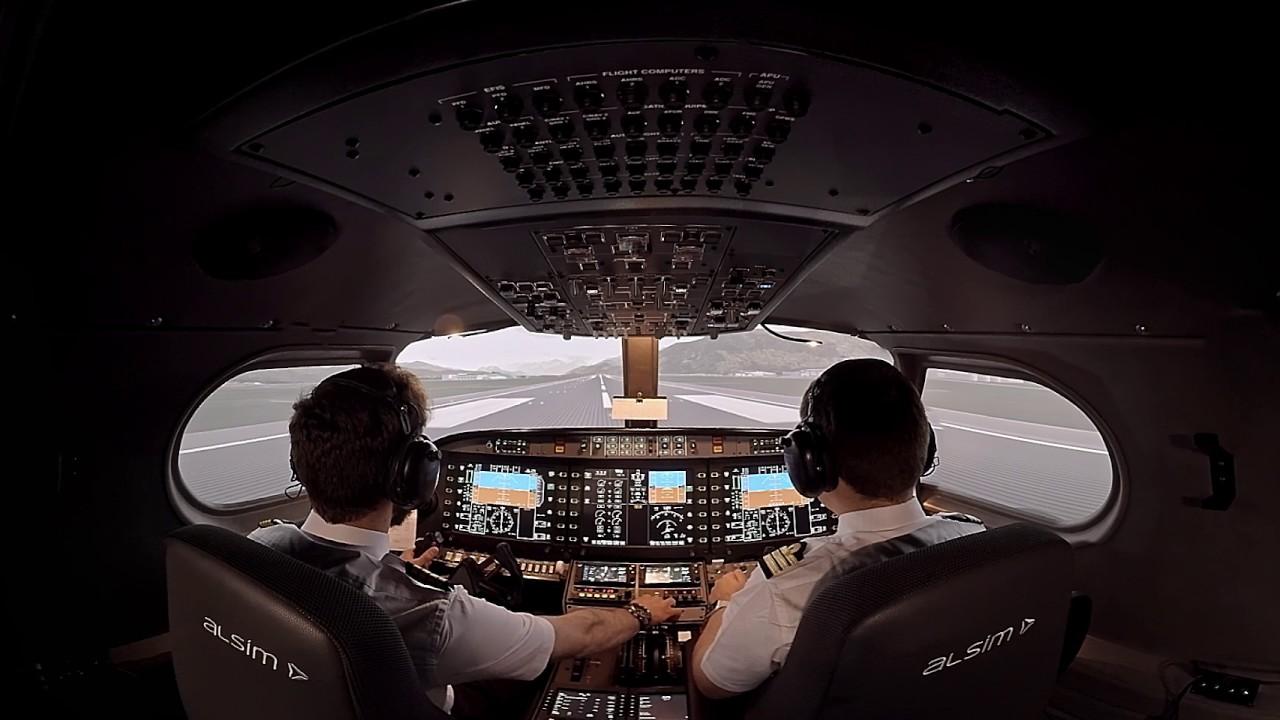 ALX FNPT II MCC MPL Flight Synthetic Training Device | ALSIM