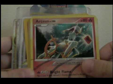 pokemon lvx and reprint and shiny and arceus and ex cards