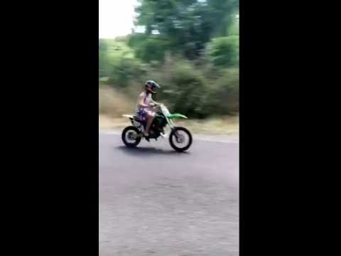 Kx85 TOP SPEED OVER 100MPH!!!!!!!!!!!!!! - YouTube