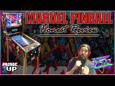 Arcade1Up Marvel Pinball - Review and Thoughts! -Twisted Gaming from TwistedGamingTV