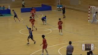 20180728 男子ハンドボール 2回戦 小林秀峰宮崎県対 神戸国際大学附兵庫県スポーツの杜鈴鹿
