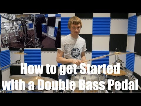 How To Get Started With A Double Bass Pedal: Beginner/Intermediate