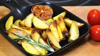 Вкусный Запеченный Картофель в Духовке с Чесноком и Розмарином