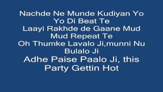 [Official Lyrics] Jazzy B | Yo Yo Honey Singh | Full HD