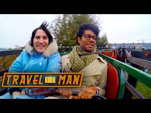 Richard Ayoade And Noel Fielding Visit Tivoli Theme Park | 48hrs In...Copenhagen