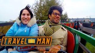 Richard Ayoade and Noel Fielding Visit Tivoli Theme Park   48hrs in...Copenhagen