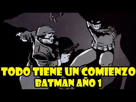 Batman Año 1 (Parte 1) - COMIC NARRADO