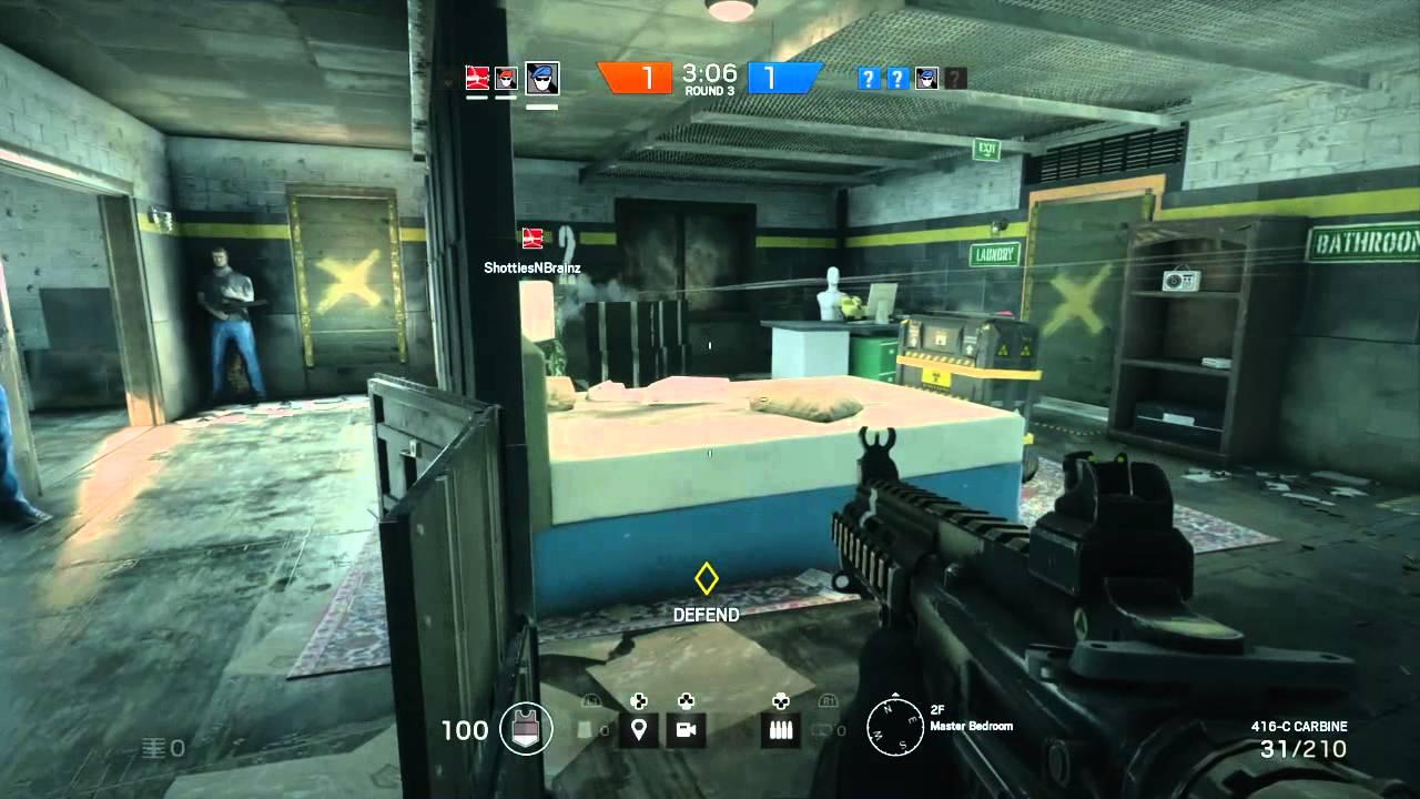rainbow six the siege beta multiplayer youtube. Black Bedroom Furniture Sets. Home Design Ideas