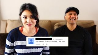 READING MEAN COMMENTS WITH MY DAD