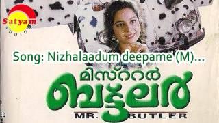 Nizhalaadum deepame (M) - Mr Butler