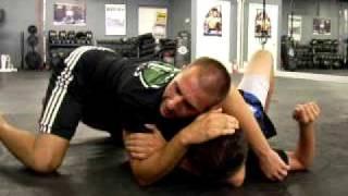 Brazilian Jiu Jitsu - Choke Submission from Side Control