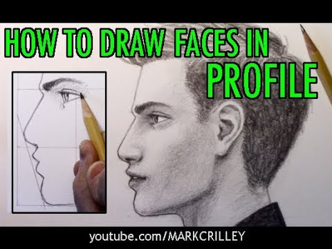 How to Draw Faces in Profile