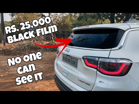 Rs 25000 Police Proof Black Tinted Film