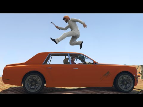 BEST PLATFORM BUMPER CARS! (GTA 5 Online)