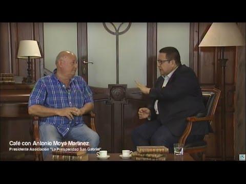 Café con... Antonio Moyá Martínez, presidente de la Asociación 'La Prosperidad de San Gabriel'