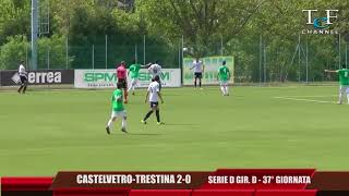 Serie D Girone D Castelvetro-Trestina 2-0