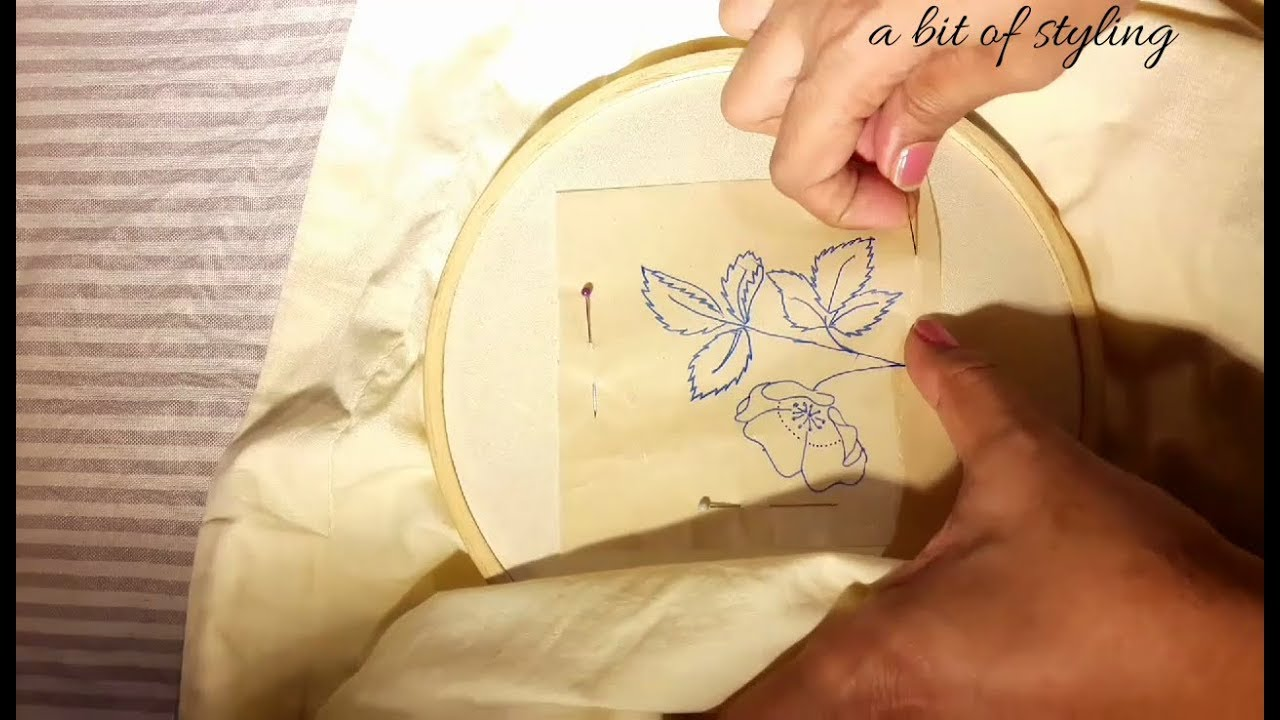 How To Transfer Pattern To Fabric Best Inspiration