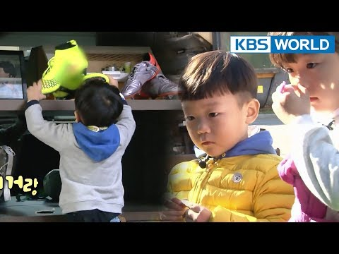 """Sian heads to junk shop with dad's medal…? """"I want to sell this~"""" [The Return of Superman/20180304]"""