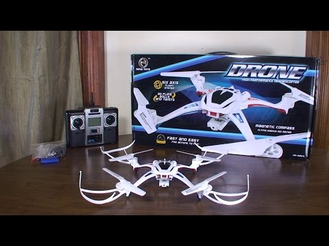 Nihui Toys - U807C Drone - Review and Flight (Indoor & Outdoor)
