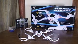 Nihui Toys - U807C Drone - Review and Flight (Indoor & Outdoor)