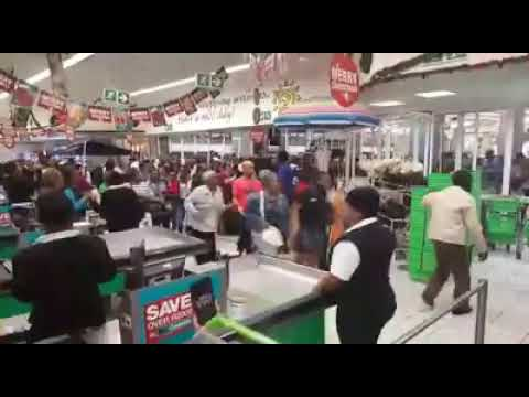 BLACK FRIFAY MASSACRE IN CHECKERS HYPER, SOUTH AFRICA