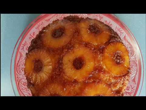 recette-de-gâteau-à-l'ananasكيكة-بالاناناس-سهله