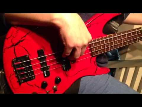 aria pro ii ctb active bass guitar youtube. Black Bedroom Furniture Sets. Home Design Ideas