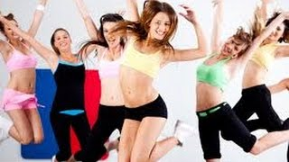 Урок фитнеса видео. Упражнения фитнес.