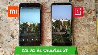 OnePlus 5T Vs Mi A1 | Battle for Portrait Mode