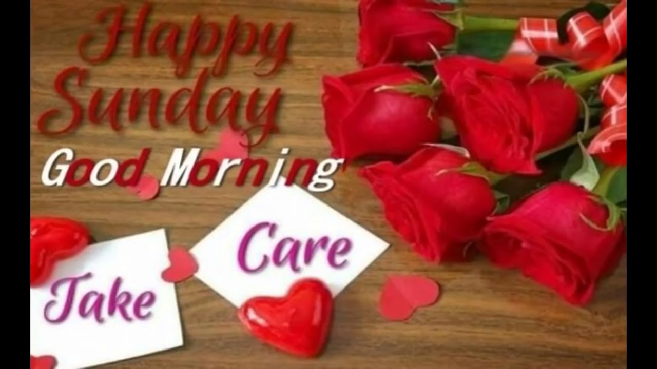Good Morning Wishes Happy Sunday Have A Nice Day Youtube
