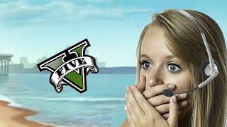 Gamer Girl Gets Trolled In GTA 5 Online! (MOD MENU TROLLING)
