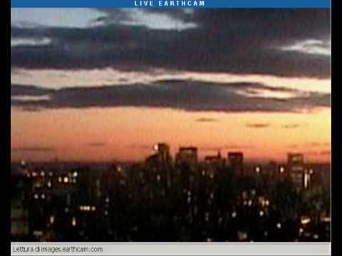 NYC UFOs ??live webcam 29-oct-2010 PART 1/2