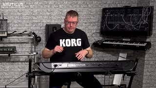 KORG synth evangelists Luke and Andy introduce the new KORG NAUTILUS workstation