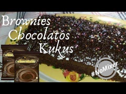 Brownies Kukus Chocolatos Tanpa Mixer Youtube