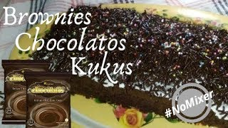 Brownies Kukus Chocolatos Tanpa Mixer