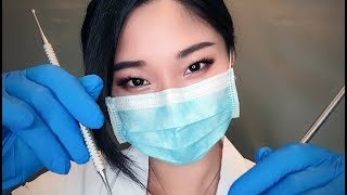 [ASMR] Dentist Roleplay - Relaxing Cleaning