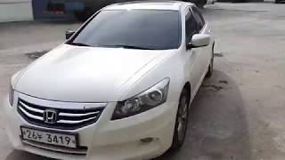 [Salvage Car Review] 2011 Honda Accord at Korea's Auto Auction