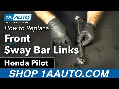 How to Replace Front Sway Bar Links 06-15 Honda Pilot