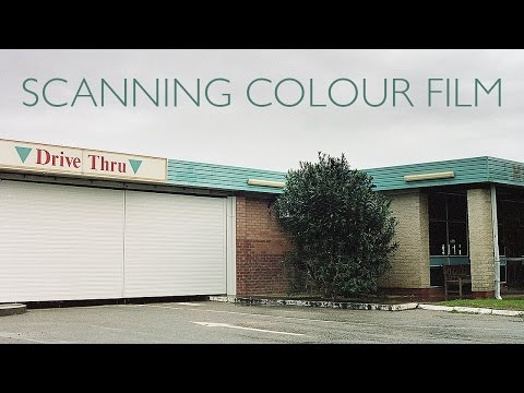 How To Scan Colour Negative Film