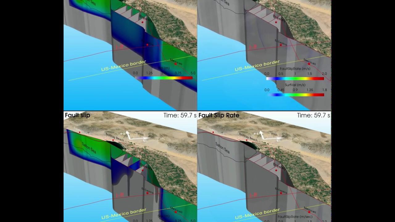 Study Uses Supercomputers to Advance Dynamic Earthquake