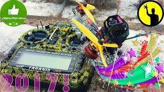 ✔ Vlog: Happy New Year 2017 From Air's Crew Ukraine FPV Drone Team!