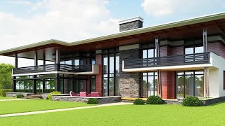 Проект каменного дома(http://www.topdom.info/portfolio/rl79.php ➨ обзор проекта на сайте архитектурного бюро ТопДом. ▻ Проект коттеджа из камня..., 2015-09-25T12:04:04.000Z)